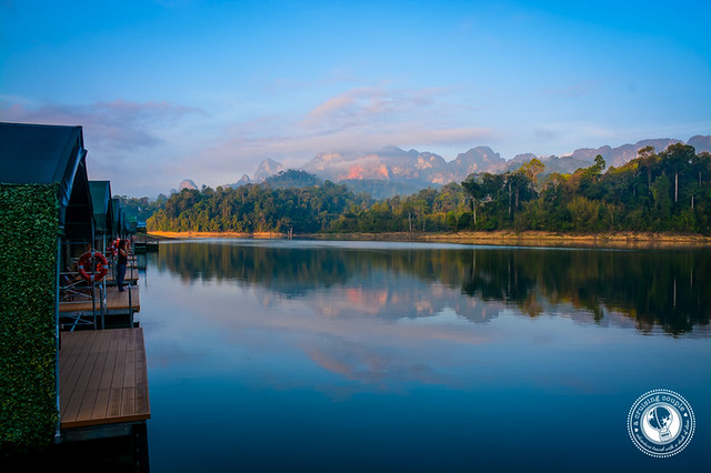 Floating Tents in Khao Sok National Park Thailand