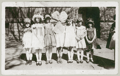 Seven little girls