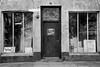 Closed village shop