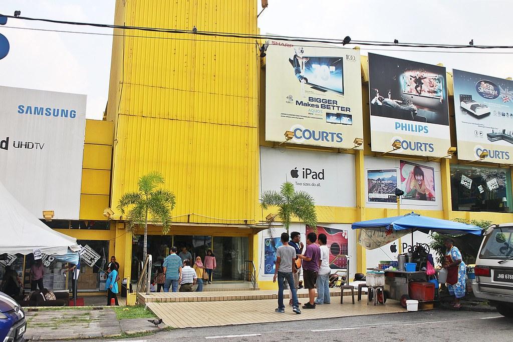 Chendol Johor Bahru:Cendol at Courur TS