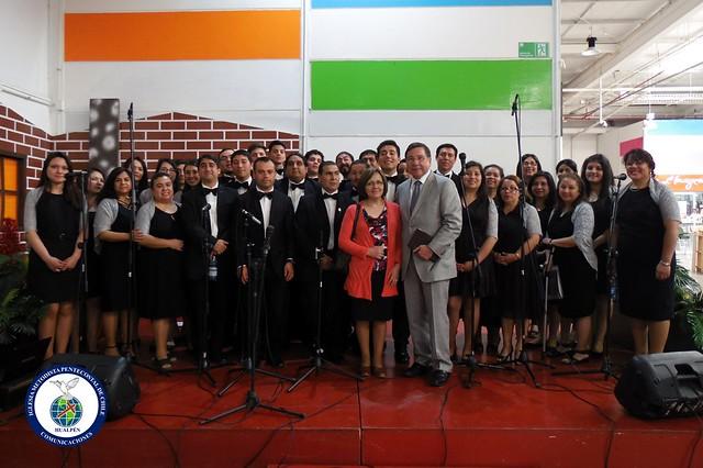 Concierto navideño Coro polifónico Hualpen 2015