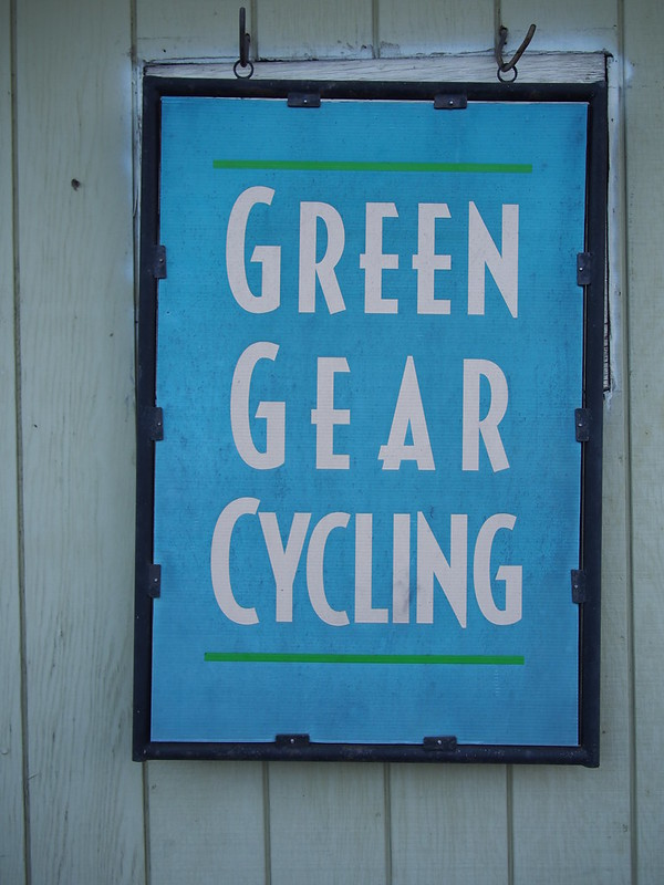 "Bike Friday's Official Name: They were incorporated as ""Green Gear Cycling"" when they weren't sure what they were going to do, but now they do business as ""Bike Friday."""