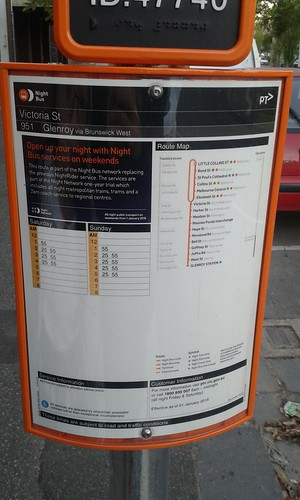 Ptv bus stop guidelines for writing