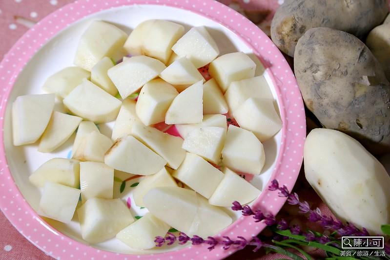 梅爾雷赫頂級冷壓初榨橄欖油,食譜料理生活,馬鈴薯塊,馬鈴薯料理 @陳小可的吃喝玩樂