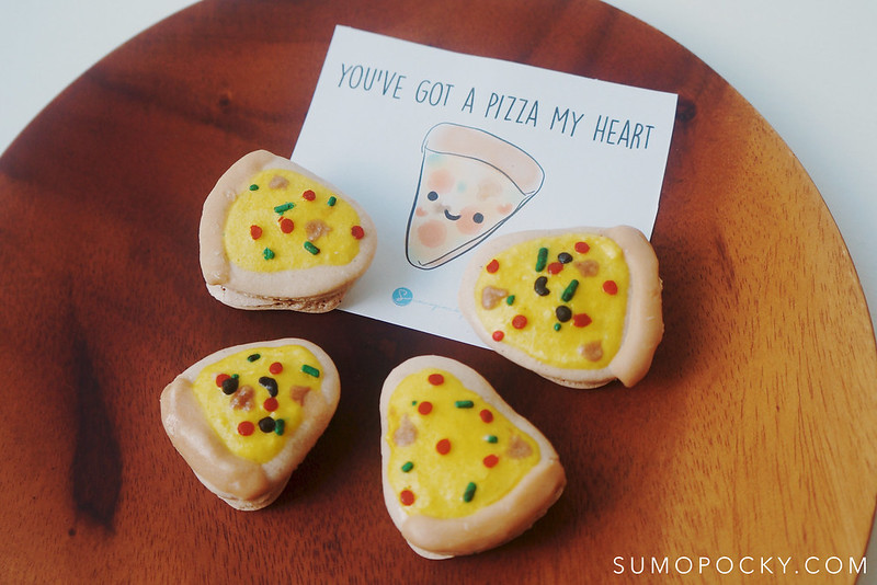 pizza macarons