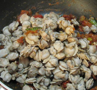 Clam Meat Masala Step - 6