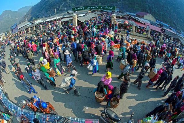 Vietnamese market - Ha Giang 1