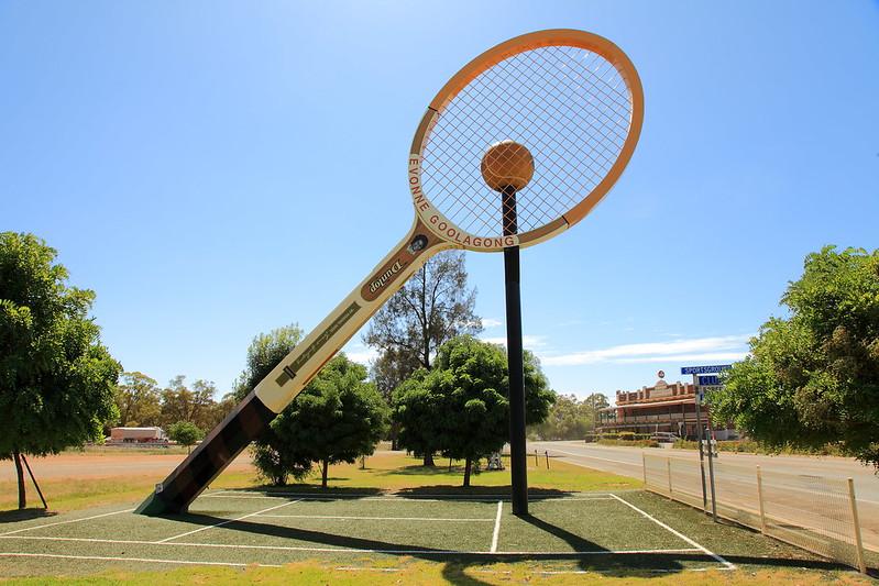 raqueta más grande del mundo