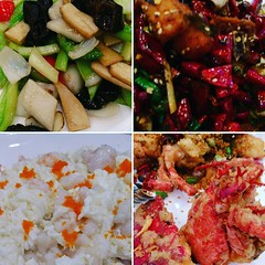 #vegetable #spicy #chicken #seafood #eggwhites #lobster #welcomehome #feast #foodtography #foodscape #foodporn