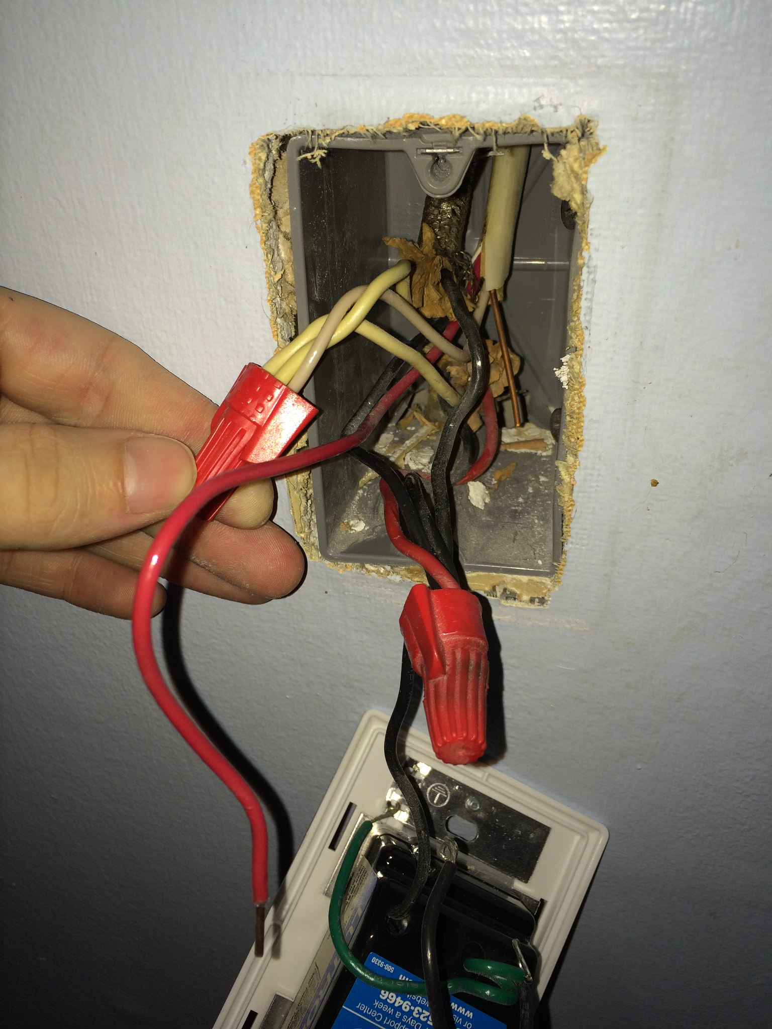 Dimmer Switch Ground Not Attached Exposed Hot Wire Do I Have A Fitting To Old Electrical Wiringdimmerinstructionsjpg Am Studying The Instructions Of New Smart As Wait For Your Response Posted Picture Below Also