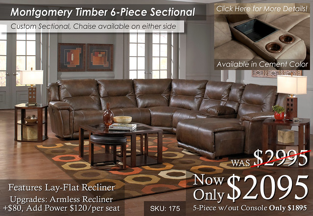 Montgomery Custom Sectional