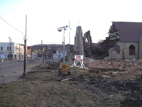 Street View: Demolition of St. Agatha's Church