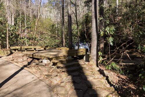 Carrick Creek Falls viewing platform