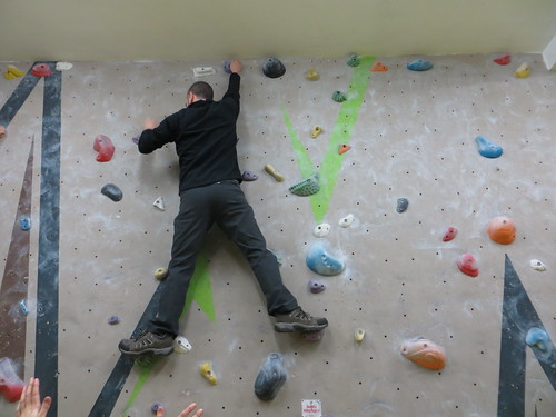bouldering victorious