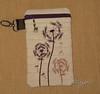 Dandelion phone case front