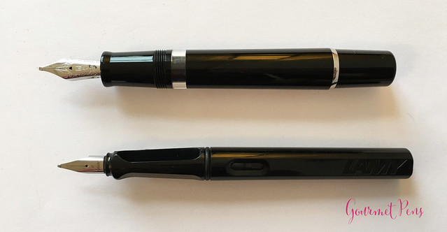 Review GoldPen Delta Mezzanotte Fountain Pen Review (9)