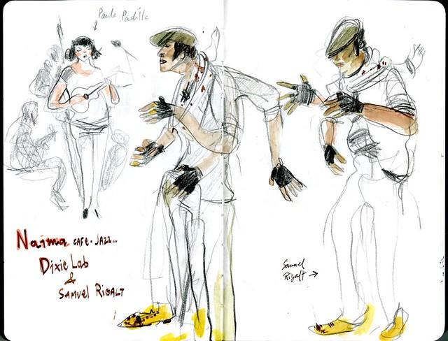 Samuel Rigal swing dancer