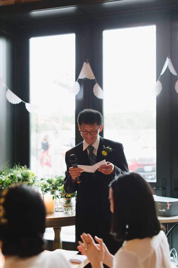 Celine Kim Photography KM Intimate restaurant Cluny Bistro Distillery District Toronto summer wedding-60
