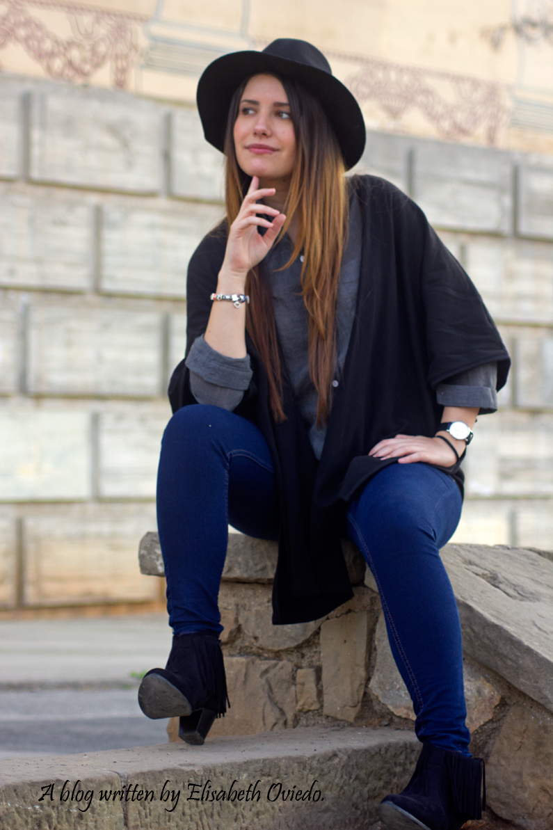 Look sombrero stradivarius HEELSANDROSES (3)