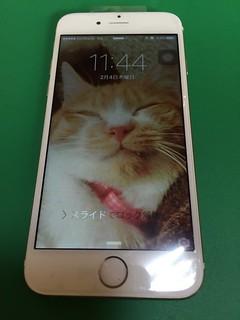 40_iPhone6のフロントパネル液晶割れ