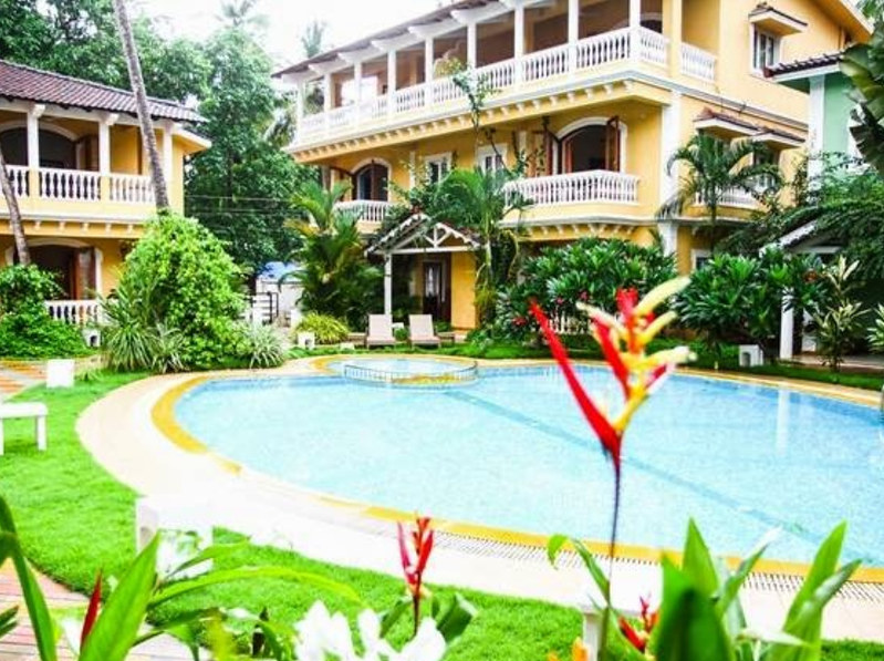 3 BHK Pool Villa with Breakfast at Arpora Bardez