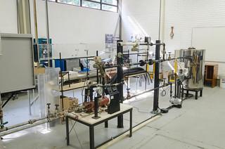 Laboratório de Fenômenos de Transporte, de Termodinâmica e de Hidráulica
