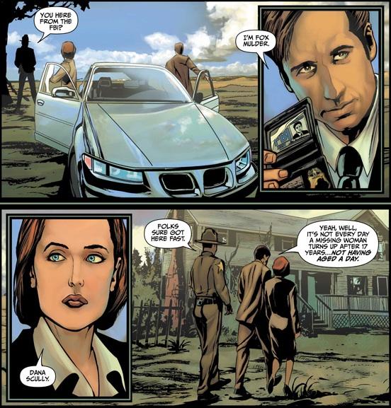 The X-Files - Comics - Art 3