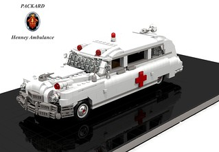 Packard 1948 Henney Ambulance