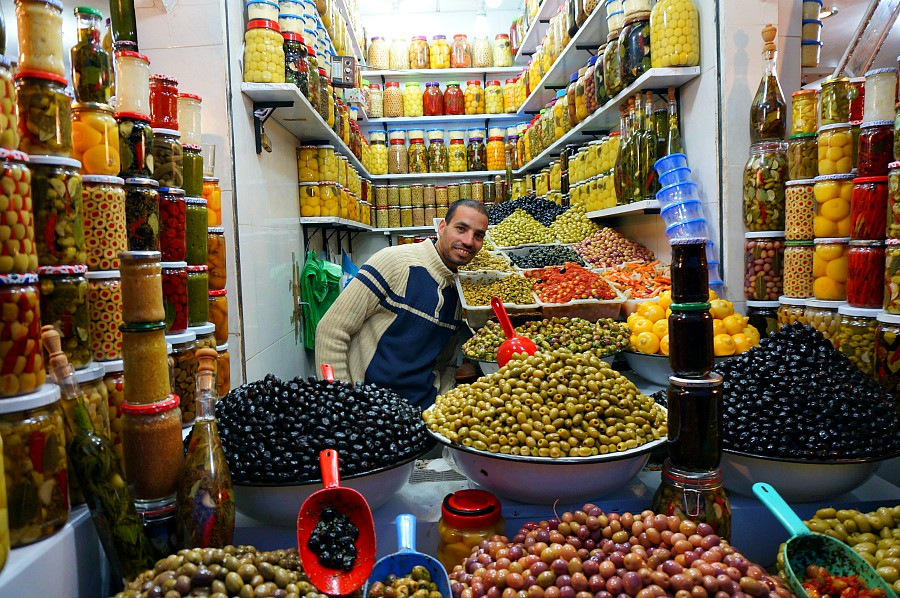 The olive guy - Marrakech Food Tour