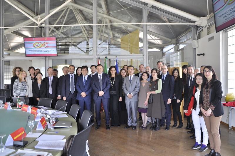 Delegazione del MOST, Ministry of Science and Technology of the People´s Republic of China
