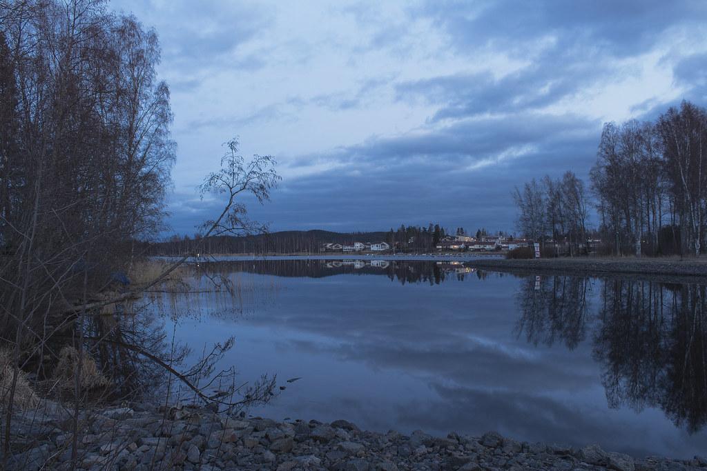 Lake view in Jyväskylä