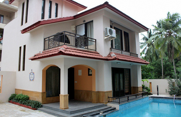 3 BHK Pool Facing Luxury Villa at Calangute North Goa