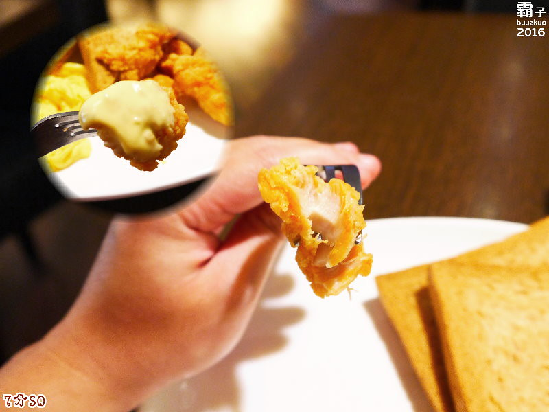 25825050825 c56f792fea b - 7分SO美式廚房(朝富店),最愛的是美式蛋捲,早餐還有附上一杯滿滿果肉的奇異果汁。