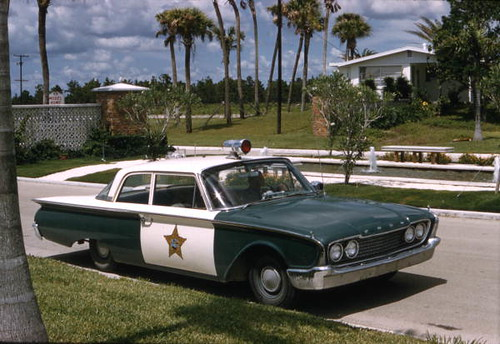 Sarasota County Sheriff Department car at Venice East