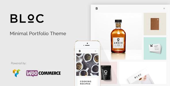 Bloc v1.4 – Minimal Portfolio Theme
