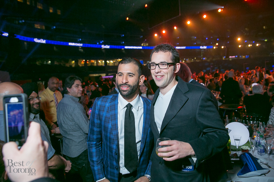 A photo op with Jose Bautista