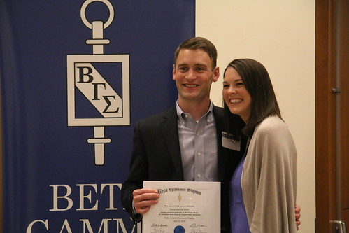 Beta Gamma Sigma Induction and Ceremony 2016