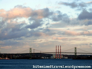 halifax nova scotia suburb trek mackay bridge nova scotia power towers