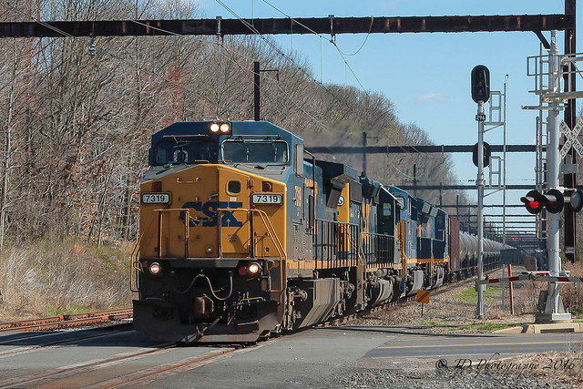 CSXT K042 @ Yardley, PA