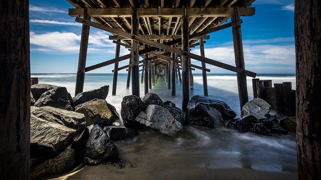 Venice beach pier - Los Angeles, United States - Seascape photography