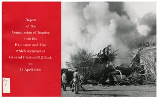 General Plastics (N.Z.) Ltd. Explosion and Fire (1965)