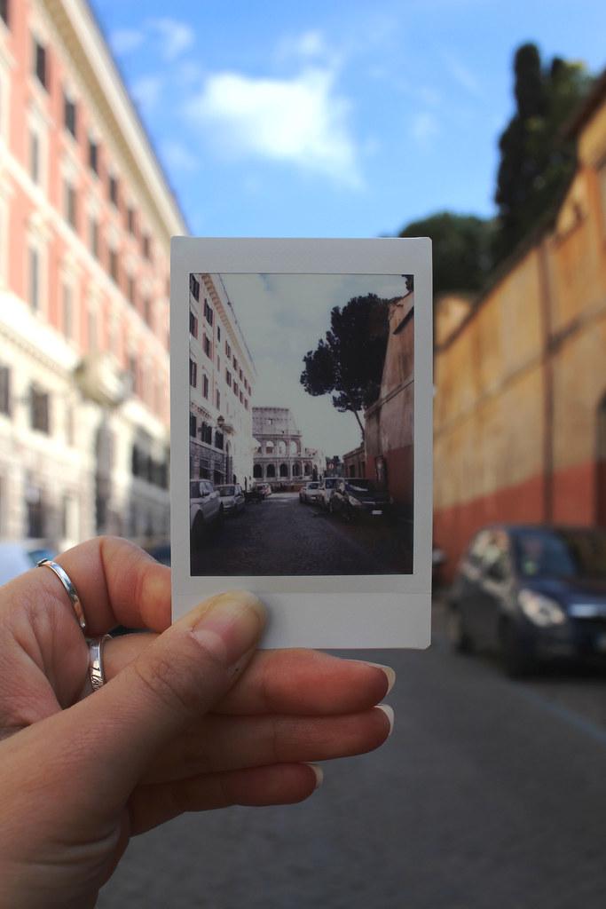 City-Break-Rome-Italy-City-Guide-The-Colosseum-Fujifilm-Instax-Polaroid