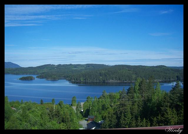 Fiordos noruegos lago Mjosa Lillehammer Troll Trondheim - Lago Mjosa