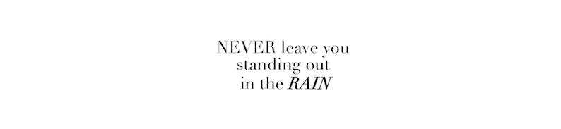 never rain