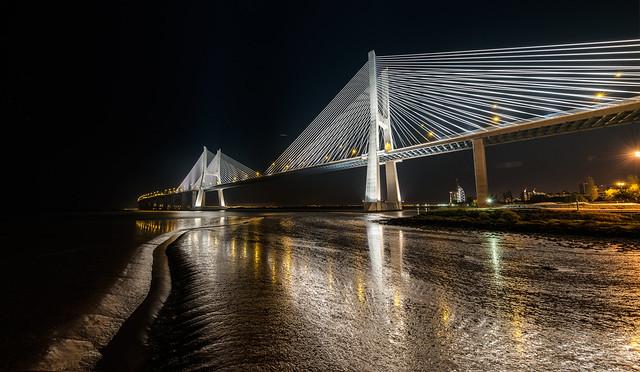Bridge in white gala dress