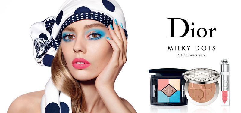Dior Milky Dots Summer 2016 Makeup Collection