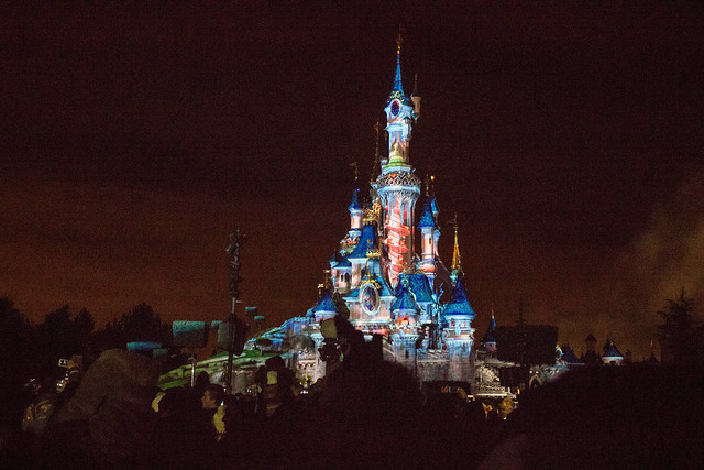 Disneyland Paris New Year's Eve show