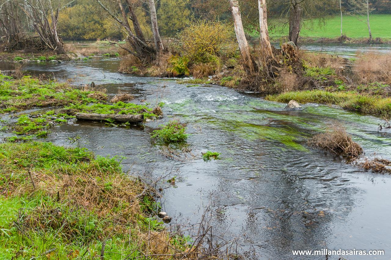 Paso del río Miño por A Fervenza