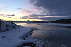 Snowy Hålandsvatnet
