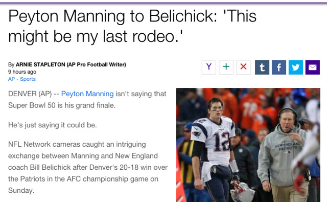 manning rodeo
